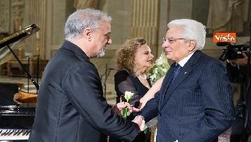 11 - Mattarella al concerto per il centenario di Tullia Zevi