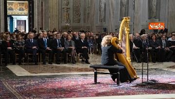 2 - Mattarella al concerto per il centenario di Tullia Zevi