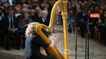 1 - Mattarella al concerto per il centenario di Tullia Zevi