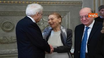 7 - Mattarella al concerto per il centenario di Tullia Zevi