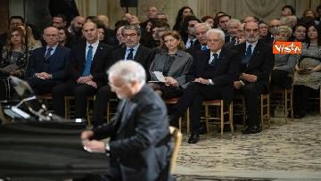 5 - Mattarella al concerto per il centenario di Tullia Zevi