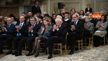 3 - Mattarella al concerto per il centenario di Tullia Zevi
