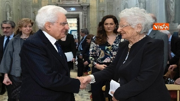 9 - Mattarella al concerto per il centenario di Tullia Zevi