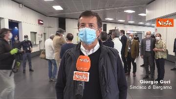 3 - In volo con il ministro Boccia e gli infermieri volontari che vanno al nord a combatter il covid