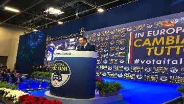 6 - Il candidato del centrodestra in Piemonte Alberto Cirio partecipa al congresso FdI