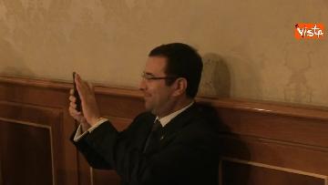 2 - Da Centinaio a Laforgia, i senatori si registrano a Palazzo Madama