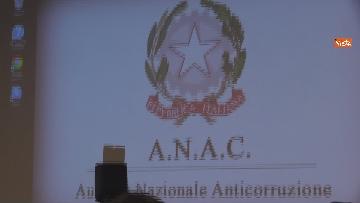 """8 - Bonafede partecipa alla conferenza """"Dove e' finita la corruzione?"""" all'Anac"""