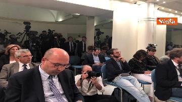 8 - Russiagate, Conte in conferenza dopo l'audizione al Copasir
