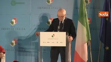 1 - Conte e Salvini ad assemblea Rete Imprese Italia immagini