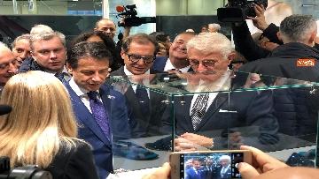 1 - Conte all'Expocenter di Mosca con gli imprenditori italiani