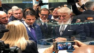 2 - Conte all'Expocenter di Mosca con gli imprenditori italiani
