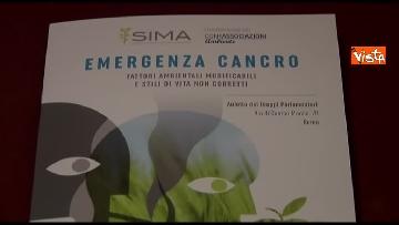1 - Malagò e Giorgetti a convegno 'Emergenza Cancro' a Montecitorio