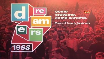 25 - 'Dreamers. 1968' Le immagini della mostra organizzata dall'AGI
