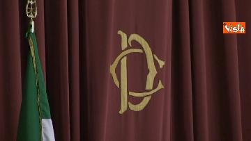 1 - Fico, Mattarella e Casellati alla relazione annuale Agcom