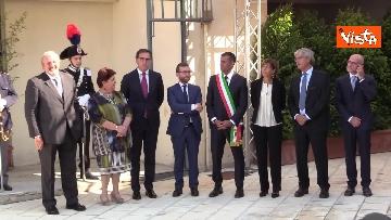 2 - Conte a inaugurazione della 83esima Fiera del Levante, le immagini