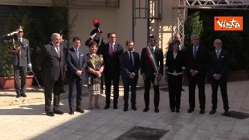 4 - Conte a inaugurazione della 83esima Fiera del Levante, le immagini