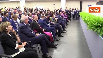 9 - Conte a inaugurazione della 83esima Fiera del Levante, le immagini