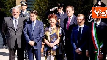 16 - Conte a inaugurazione della 83esima Fiera del Levante, le immagini