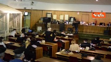 1 - Processo a dirottatore scuolabus Sy, le immagini dell'udienza