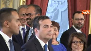 1 - Il giuramento del Ministro dell'Istruzione Lorenzo Fioramonti