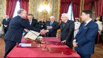 2 - Il giuramento del Ministro dell'Economia Roberto Gualtieri