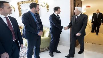 1 - Ue, Mattarella riceve Conte e ministri in vista del Consiglio
