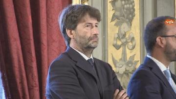 2 - Il giuramento del Ministro dei Beni Culturali Dario Franceschini