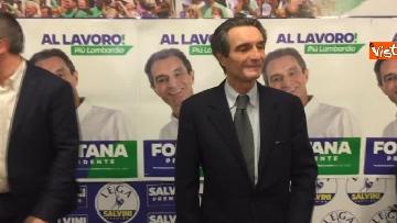 2 - Regionali Lombardia, Fontana il giorno dopo la vittoria