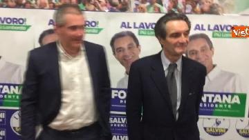 1 - Regionali Lombardia, Fontana il giorno dopo la vittoria