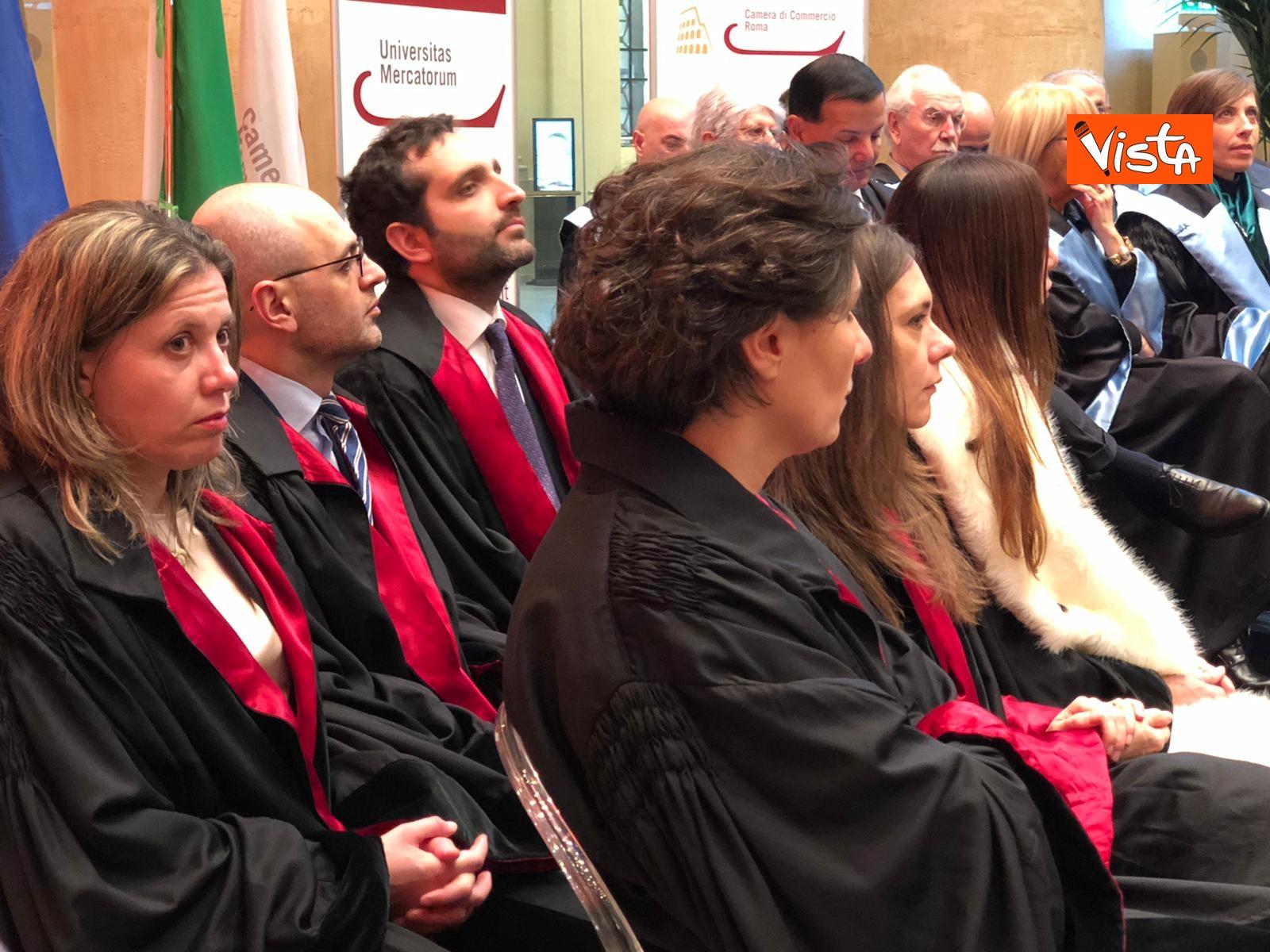 21-01-20 L'Universitas Mercatorum inaugura l'anno accademico 2019 2020, lo speciale