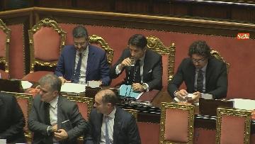 1 - Conte riferisce in Senato su Consiglio Ue e Via della seta immagini