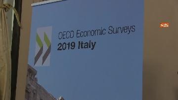 2 - La presentazione del rapporto Ocse sull'andamento dell'economia in Italia