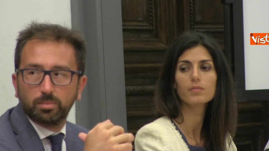 07-08-18 Bonafede e Raggi a presentazione progetto riabilitazione detenuti a Roma 6