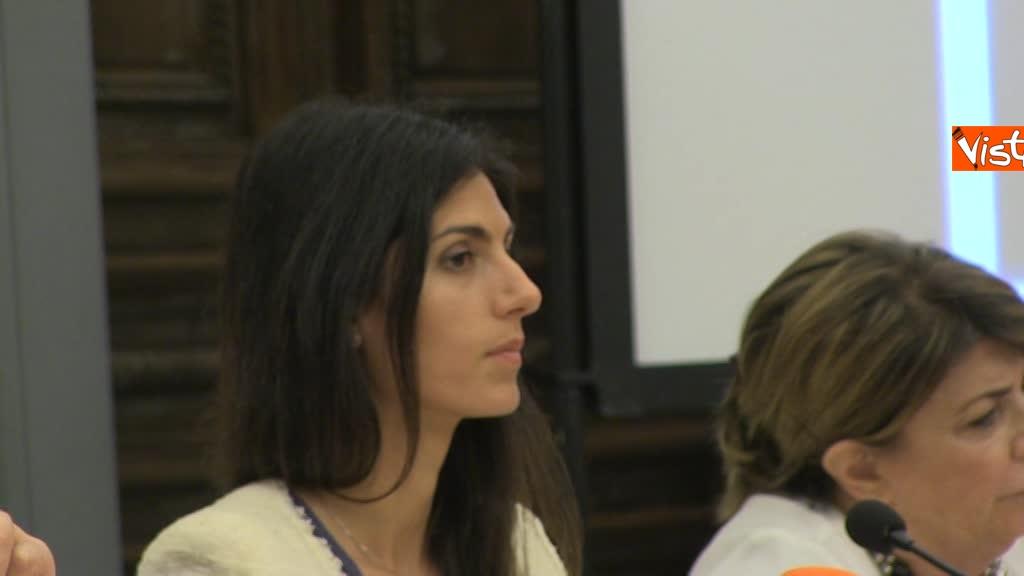 07-08-18 Bonafede e Raggi a presentazione progetto riabilitazione detenuti a Roma 8