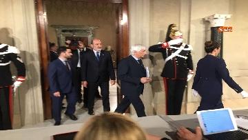 7 - 27-05-18 Governo, segretario Quirinale Zampetti annuncia rinuncia di Conte