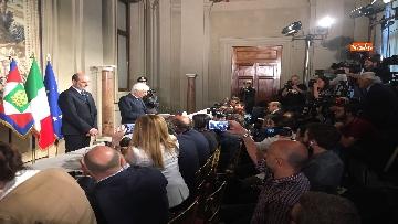 2 - 27-05-18 Governo, segretario Quirinale Zampetti annuncia rinuncia di Conte