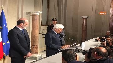 4 - 27-05-18 Governo, segretario Quirinale Zampetti annuncia rinuncia di Conte