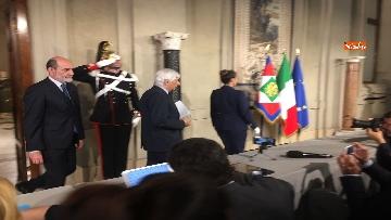 8 - 27-05-18 Governo, segretario Quirinale Zampetti annuncia rinuncia di Conte