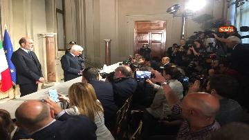 3 - 27-05-18 Governo, segretario Quirinale Zampetti annuncia rinuncia di Conte
