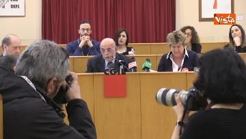 10 - Susanna Camusso in conferenza stampa con Federconsumatori per ricorso, contro Morgan Stanley