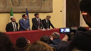 2 - Consultazioni, la delegazione del Pd incontra la stampa, le immagini