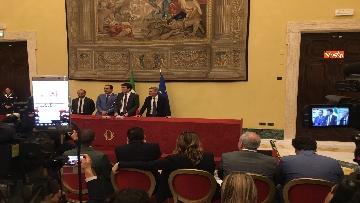 4 - Consultazioni, la delegazione del Pd incontra la stampa, le immagini