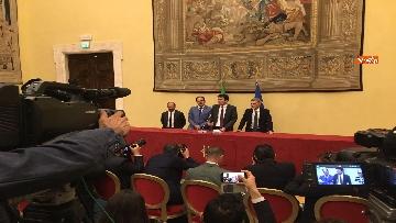 5 - Consultazioni, la delegazione del Pd incontra la stampa, le immagini