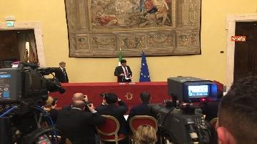 11 - Consultazioni, la delegazione del Pd incontra la stampa, le immagini