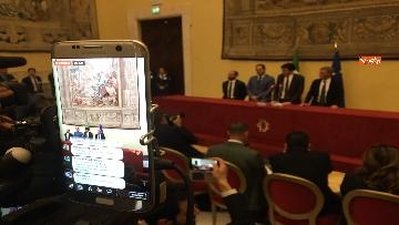 7 - Consultazioni, la delegazione del Pd incontra la stampa, le immagini