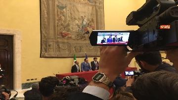 9 - Consultazioni, la delegazione del Pd incontra la stampa, le immagini