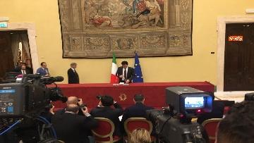 10 - Consultazioni, la delegazione del Pd incontra la stampa, le immagini
