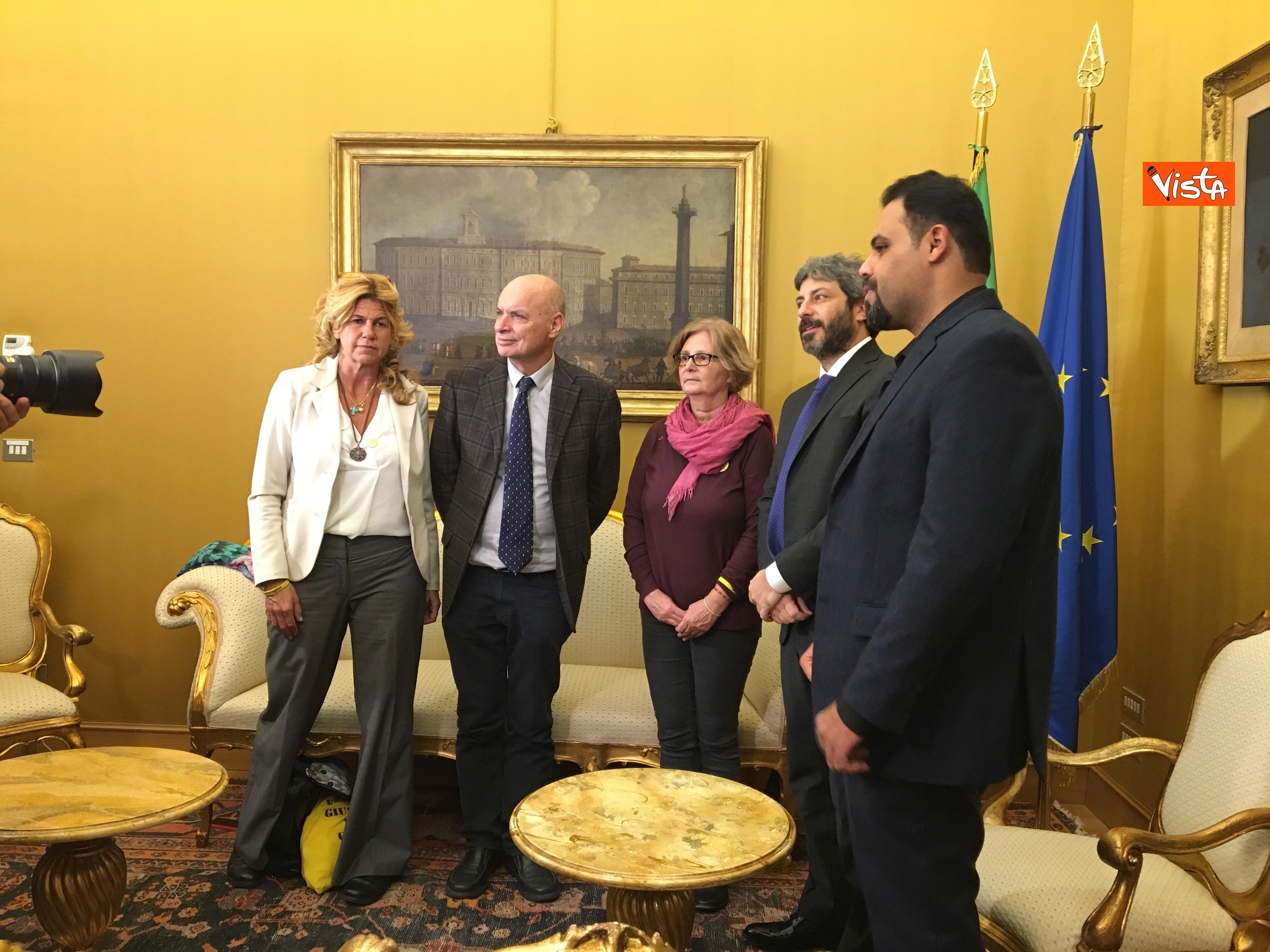 05-12-18 Regeni, Fico riceve i genitori di Giulio e i loro legali a Montecitorio_02