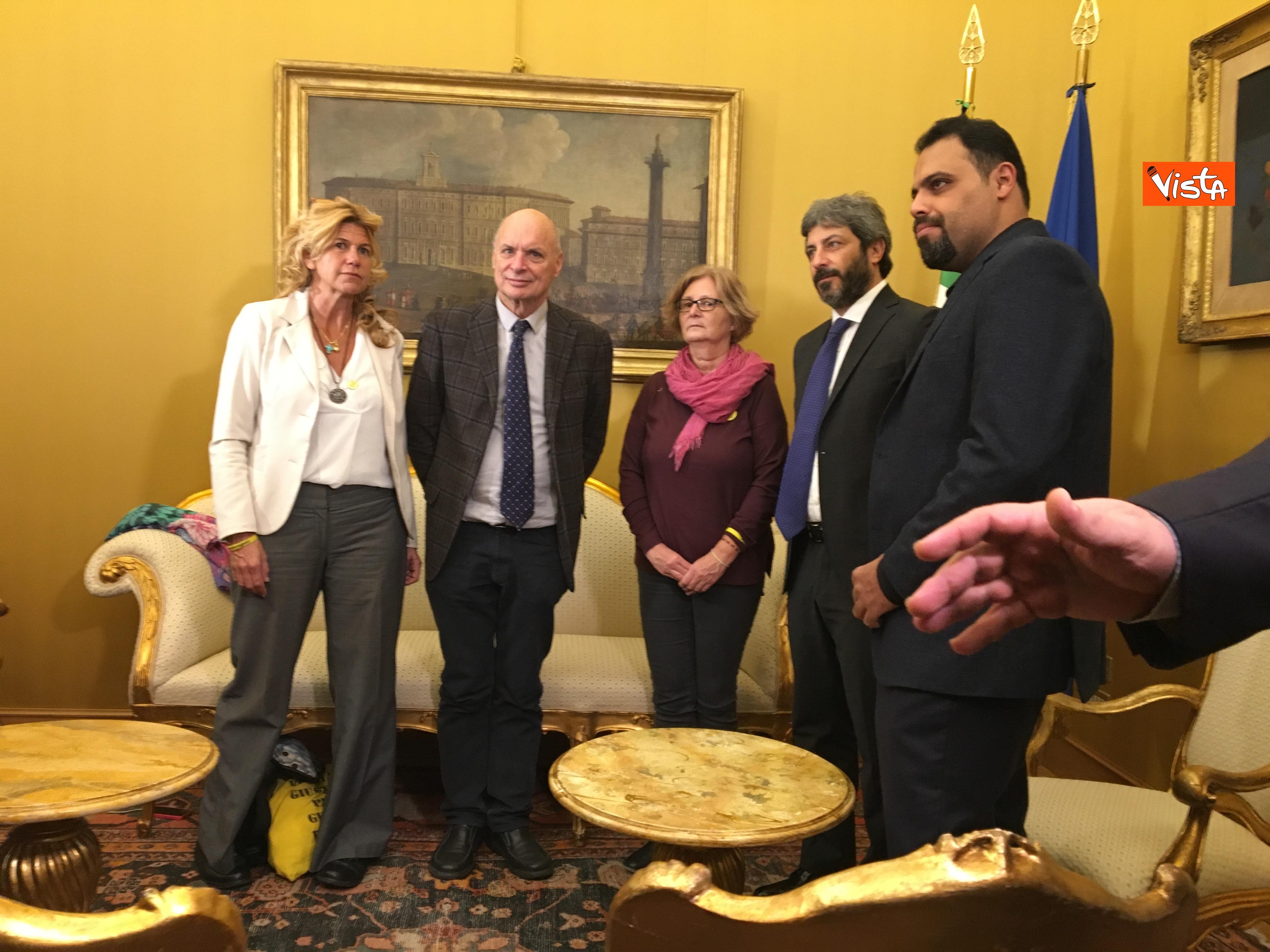 05-12-18 Regeni, Fico riceve i genitori di Giulio e i loro legali a Montecitorio_03