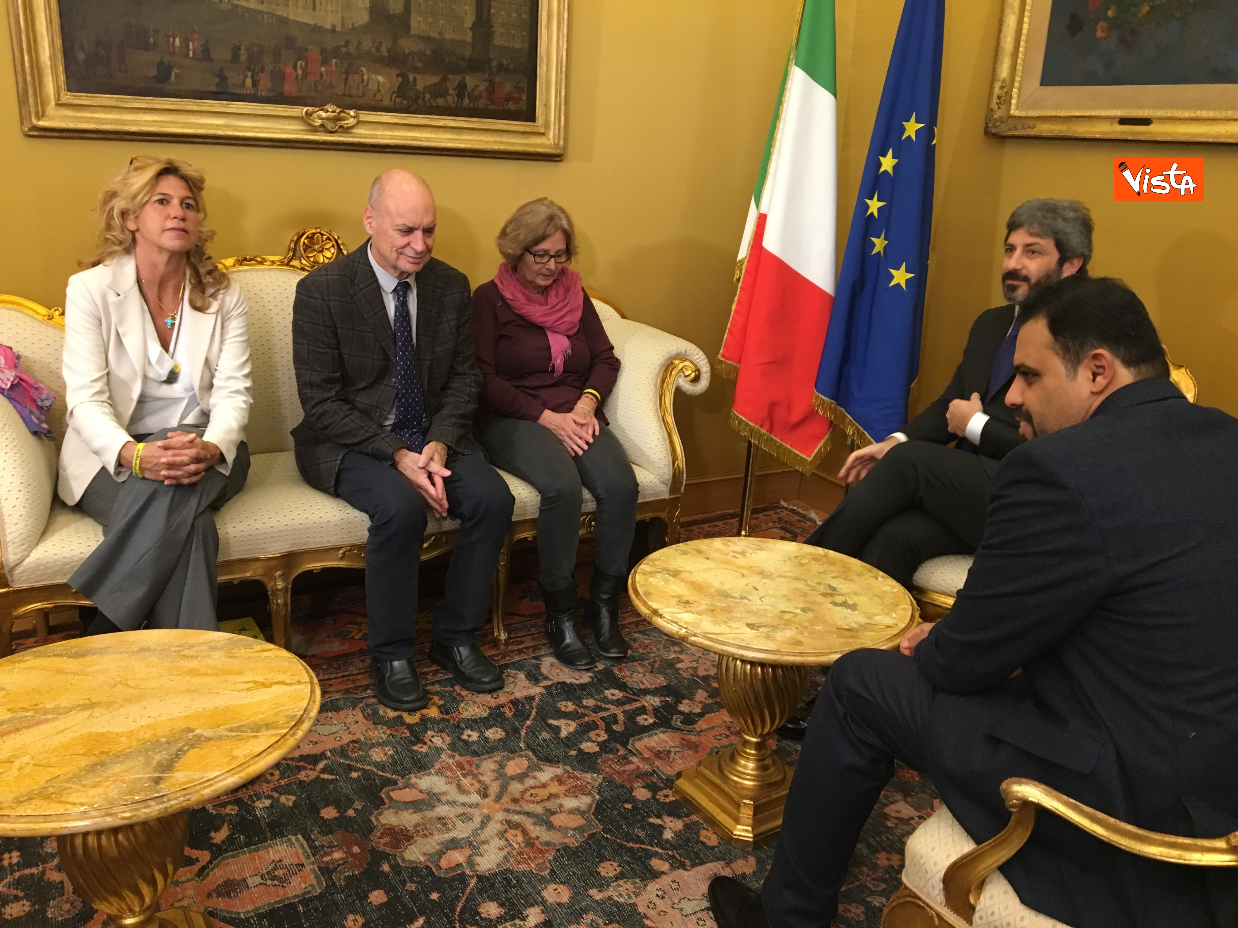 05-12-18 Regeni, Fico riceve i genitori di Giulio e i loro legali a Montecitorio_04